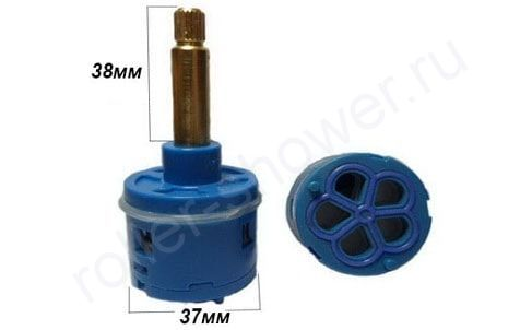 Картридж для смесителя на 5 режимов D-37мм L-38мм для душевой кабины